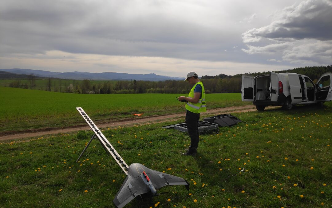 Droga ekspresowa S3 Bolków – Kamienna Góra             nalot dronem zdjęcia  z UX5 HP GSD 3cm